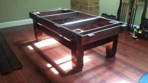 Pool and billiard table set ups and installations in Detroit Michigan