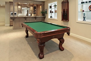 Pool Table Room Sizes in Detroit